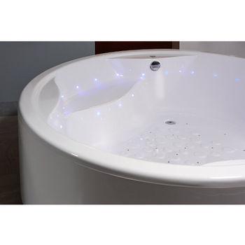 Aquatica Allegra™ Freestanding Relax Air Massage Bathtub, White