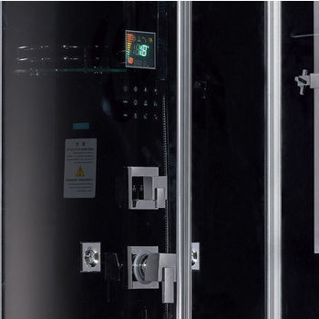 Black Left Side Control Panel