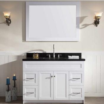 Hamlet Bathroom Vanity With Absolute Black Marble Or White