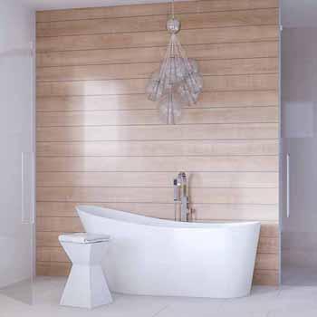 """ARIEL Platinum Paris 67"""" Freestanding Bathtub, White"""