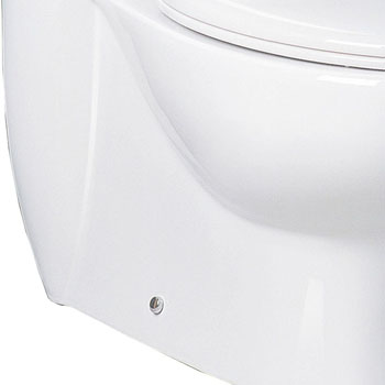 Toilet Bottom (Back)