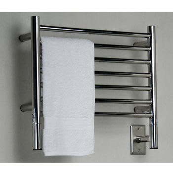 Amba Towel Warmers Jeeves Model H Straight, Polished Finish