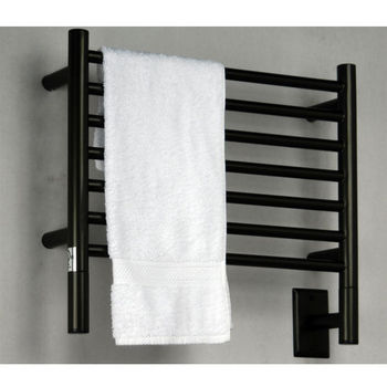 Amba Towel Warmers Jeeves Model H Straight, Oil Rubbed Bronze Finish