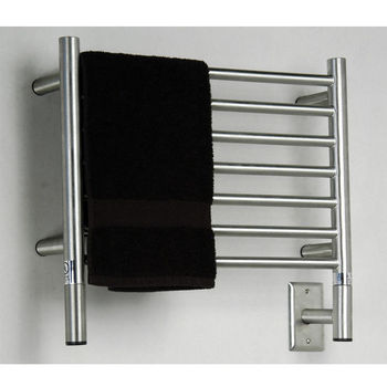 Amba Towel Warmers Jeeves Model H Straight, Brushed Finish