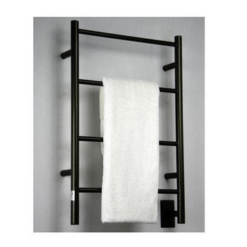Amba Towel Warmers Jeeves Model I Straight, Oil Rubbed Bronze Finish