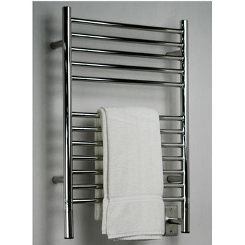 Amba Towel Warmers Jeeves Model E Straight, Polished Finish