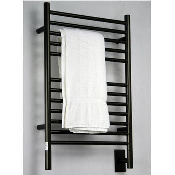 Amba Towel Warmers Jeeves Model E Straight, Oil Rubbed Bronze Finish