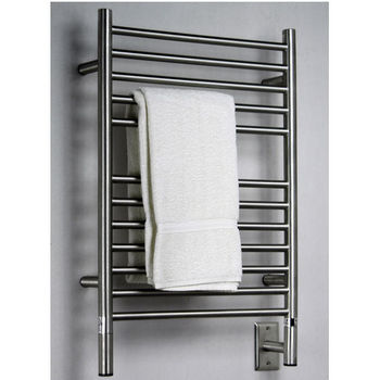 Amba Towel Warmers Jeeves Model E Straight, Brushed Finish