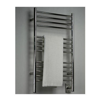 Amba Towel Warmers Jeeves Model C Straight, Polished Finish