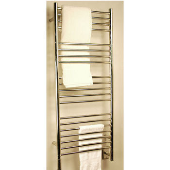 Amba Towel Warmers Jeeves Model D Straight, Polished Finish