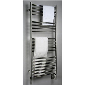 Amba Towel Warmers Jeeves Model D Straight, Brushed Finish