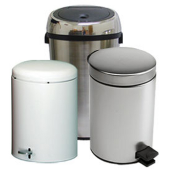 Trash Cans Free Standing Built In Under Cabinet Pull Out