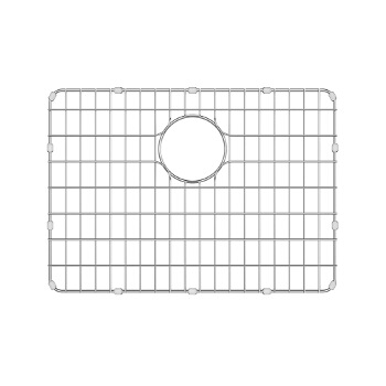 Grid for 23'' Sink, White Background