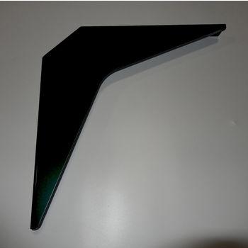"Best Brackets Imported ADA Workstation Support Standard Steel Bracket 12"" D x 12"" H in Black, Sold As 6-Piece"