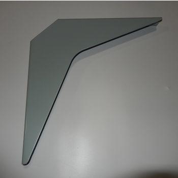 "Best Brackets Imported ADA Workstation Support Standard Steel Bracket 12"" D x 12"" H in Primer, Sold As 6-Piece"