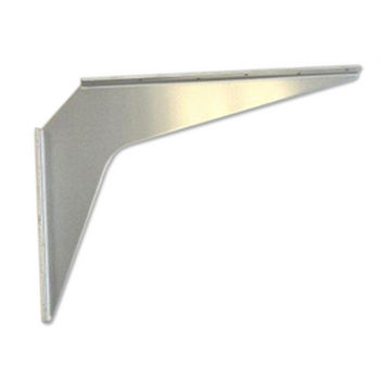 "Best Brackets Imported Aluminum ADA Support Bracket, 2 Gauge, 15"" D x 21"" H, Sold As Pair"