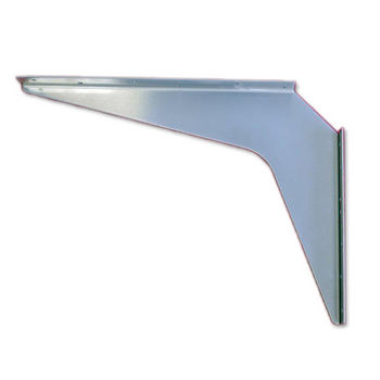 "Best Brackets USA Made ADA Stainless Steel Support Bracket, 12 Gauge, 15"" D x 21"" H, Sold As Pair"