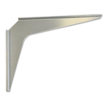 "Best Brackets Imported Aluminum ADA Support Bracket, 2 Gauge, 18"" D x 24"" H, Sold As Pair"