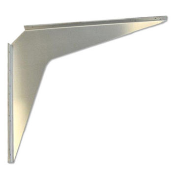 "Best Brackets Imported Aluminum ADA Support Bracket, 2 Gauge, 24"" D x 29"" H, Sold As Pair"