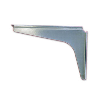 "Best Brackets USA Made ADA Stainless Steel Support Bracket, 12 Gauge, 8"" D x 12"" H, Sold As Pair"