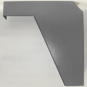 "Best Brackets Imported ADA Vanity Bracket 21"" in Primer for 22"" to 24"" Countertop, Sold As Pair"