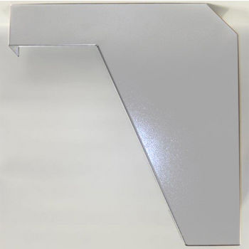 "Best Brackets Imported ADA Vanity Bracket 21"" in White for 22"" to 24"" Countertop, Sold As Pair"