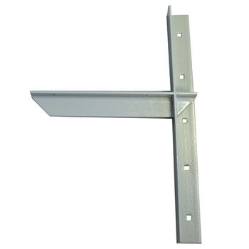 "Extended Concealed Bracket with 12"" Support Arm, 2 Pcs. Available in 4 Finishes"