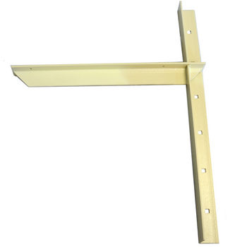 "Extended Concealed Bracket with 18"" Support Arm, 2 Pcs. Available in 4 Finishes"