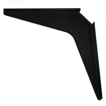 "Work Station And Counter Top Support Bracket, 18"" D x 18"" H, Black Finish, 6 Pcs."