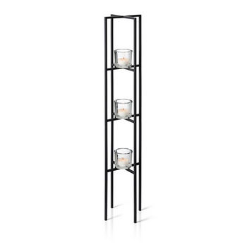 Blomus Nero Free Standing Sclupture Candle Holders