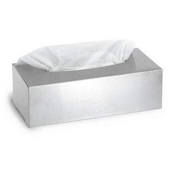 Blomus Nexio Brushed Stainless Steel Kleenex Tissue Box Holder