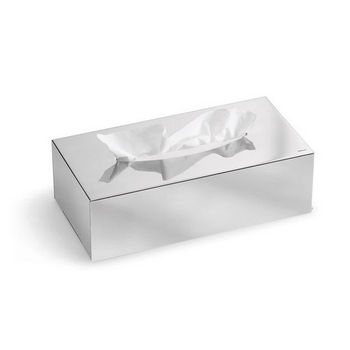 Blomus Nexio Polished Stainless Steel Kleenex Tissue Box Holder