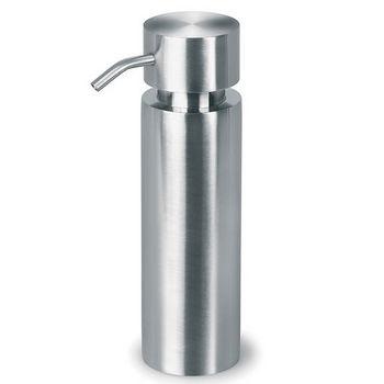 Blomus Duo Brushed Stainless Steel Freestanding Soap Dispenser