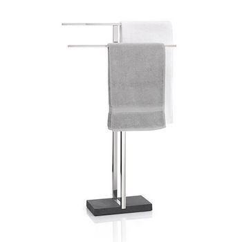 Blomus Towel Rack with Black Base