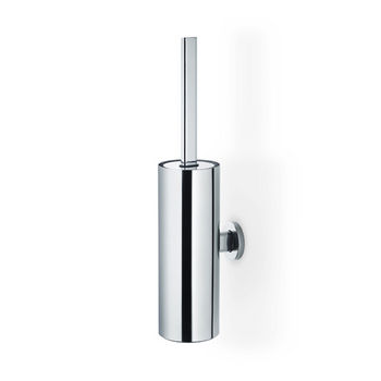 Blomus Areo Collection Wall-Mounted Toilet Brush in Polished Finish, 3-1/2'' Diameter x 4-3/4'' D x 17'' H