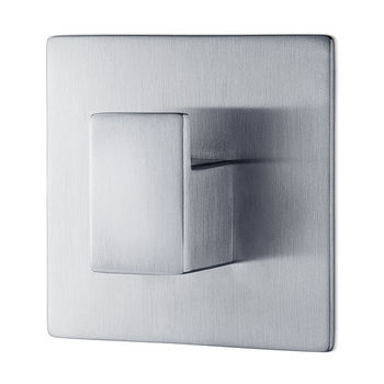 Blomus Menoto Collection Wall Mounted Hook in Satin Stainless Steel, 2-3/8'' W x 2-3/8'' D x 1-1/32'' H