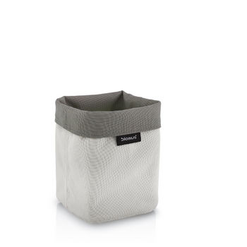 Empty Sand-Taupe Tall Basket