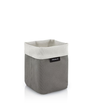 Empty Reversed Sand-Taupe Tall Basket