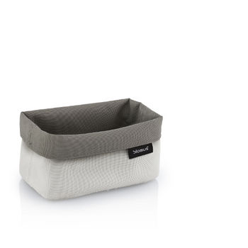 Empty Sand-Taupe Small Basket