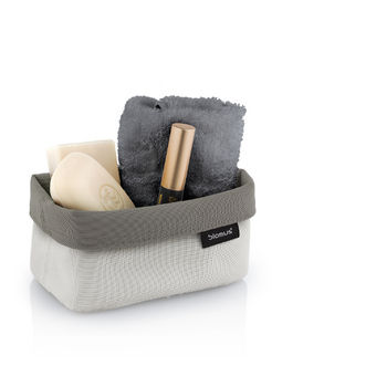 Filled Sand-Taupe Small Basket