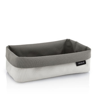Empty Sand-Taupe Wide Basket