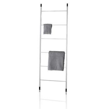 Blomus Mento Towel Rack Ladder, 21-2/3''W x 4/5''D x 67-3/8''H