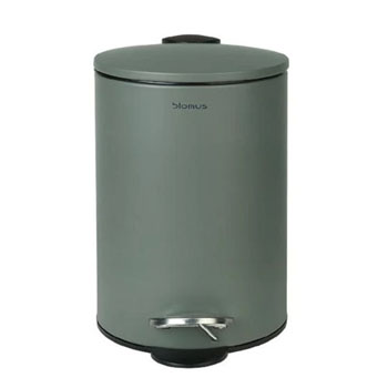 Wastepaper Basket 3L in Agave Green Display View
