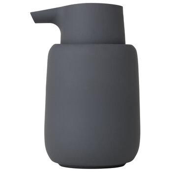Blomus Sono Collection Soap Dispenser, Magnet, 3-3/8''W x 3-11/16''D x 5-11/16''H