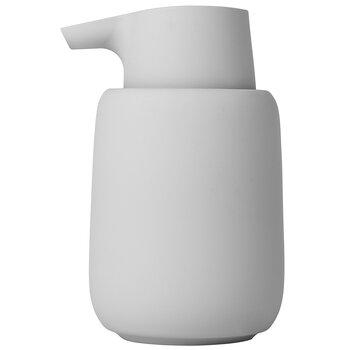 Blomus Sono Collection Soap Dispenser, Microchip, 3-3/8''W x 3-11/16''D x 5-11/16''H