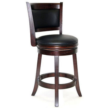 "Boraam Industries ""Augusta"" 24"" Swivel Bar Stool"