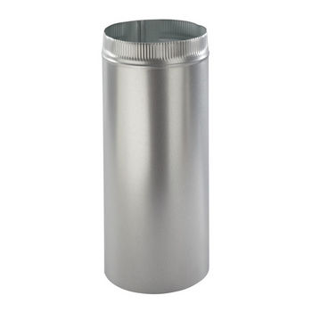 "Broan 10"" Round Duct, 2 Foot Sections, Galvanized Steel"