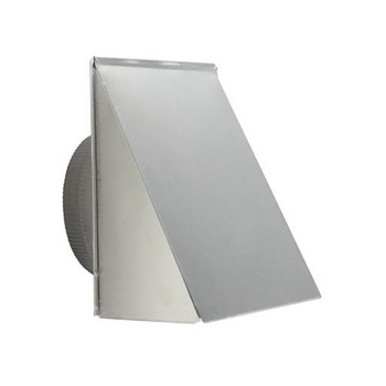 "Broan 10"" Round Fresh Air Inlet Wall Cap, Aluminum"
