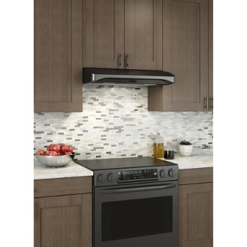 Alta Range Hood Black Stainless Steel