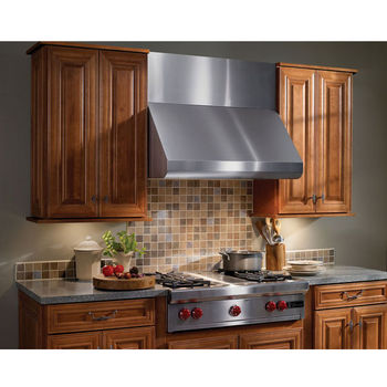 Broan Elite Wall Canopy Rangehood 600 - 1200 CFM Stainless Steel 30  - 48  Widths Available  sc 1 st  KitchenSource.com & Wall Mount Range Hoods - Canopies Chimneys Ductless u0026 Wood Hoods ...